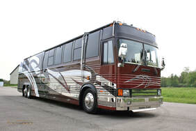 1999 Prevost Country Coach Double Slide